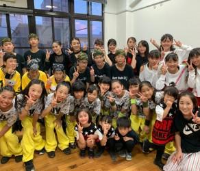 夏休みに有隣祭りでJETE 枚方Sチームが踊りました