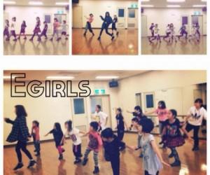 イベント「E-GIRLS」のダンスに挑戦